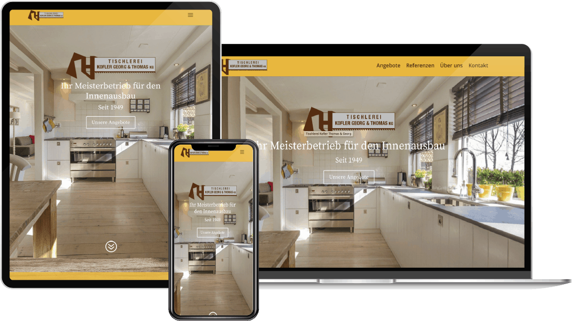 Zimmerei Zuech Webdesign by Clooc-design