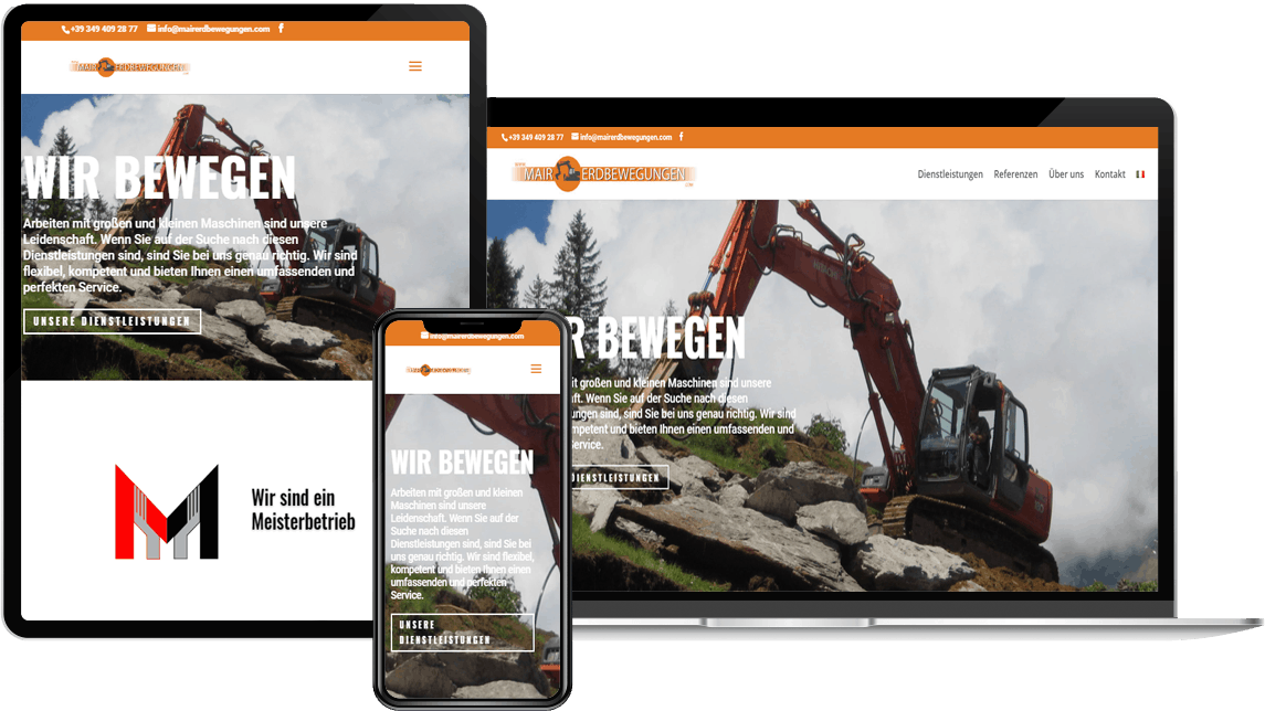 CLOOC Gmbh, spezialist in Webdesign & Hosting